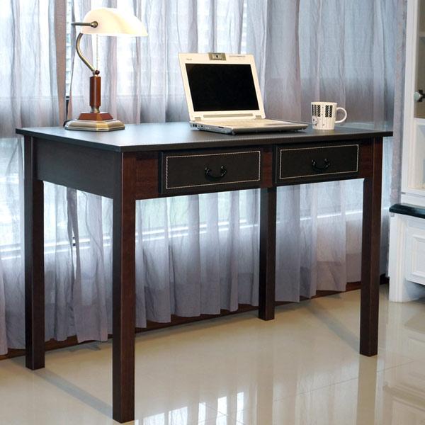 《閱讀歐洲》新古典馬鞍皮大書桌 (桌面長103公分) 圖示介紹1