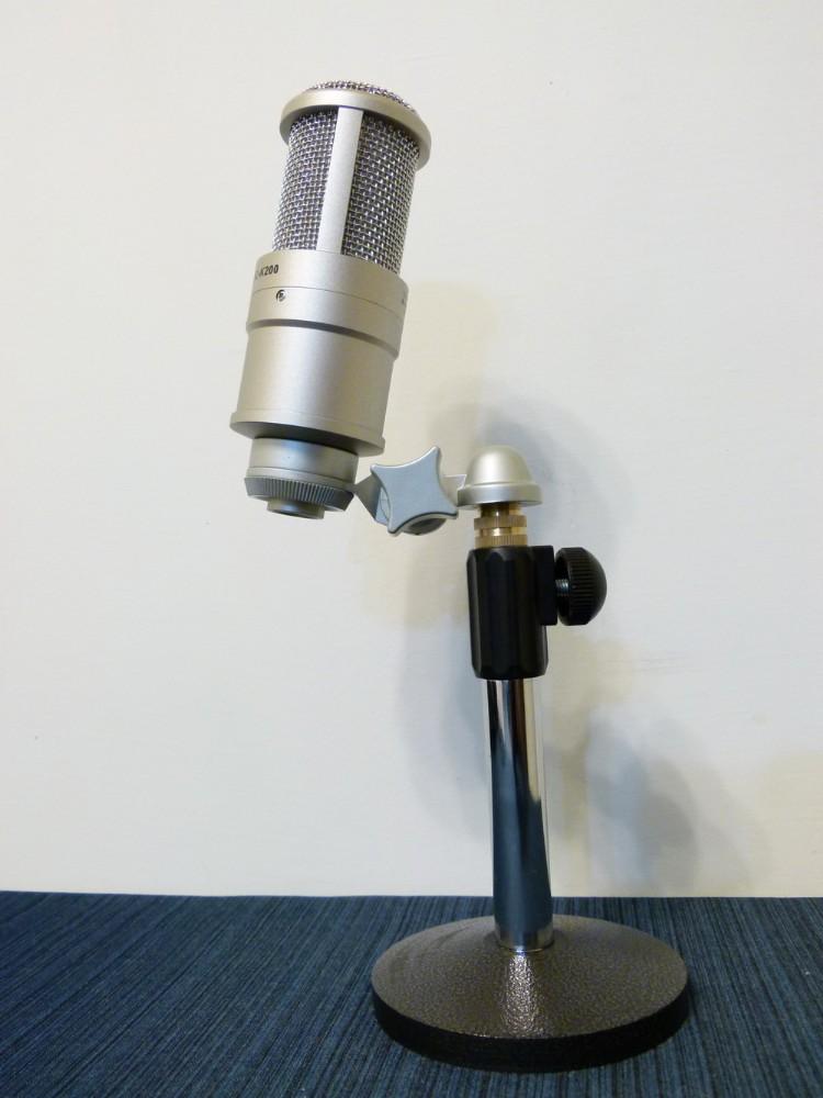 器材 麦克风前级/48v幻象电 录音超质搭配~全新得胜pc-k200大震膜电容